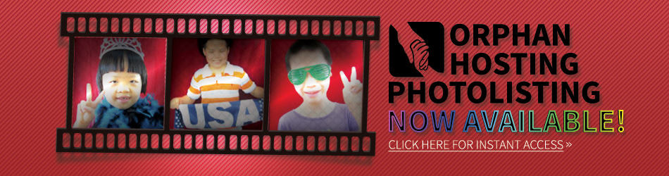 Orphan Hosting Photolisting Now Available